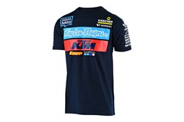2019 TLD KTM TEAM TEE NAVY