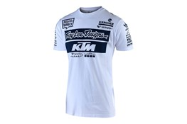2019 TLD KTM TEAM TEE WHITE