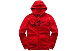 Alpinestars Ageless Fleece Hoodie Red