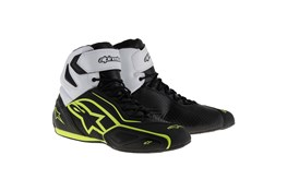 Alpinestars Faster-2 WP Shoes BL/WH/YE
