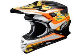 Shoei VF-X HELMET Camo Orange Maat L