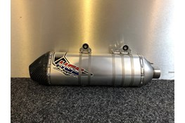 HGS EXHAUST SILENCER CARBON END CAP