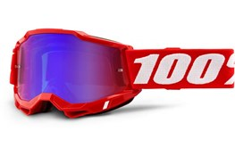 100% ACCURI 2 RED MIRROR RED/BLUE LENS G
