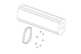 Damping material kit