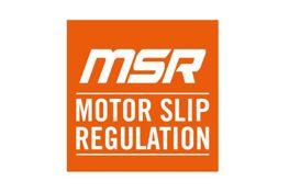 Motor slip regulation (MSR)