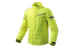 Rain Jacket Cyclone 2 H2O Neon Yellow