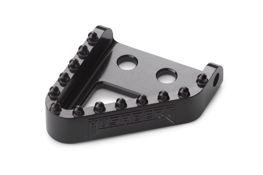 Footbrake lever step plate