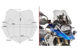 Givi sport windscherm lichtgetint BMW GS