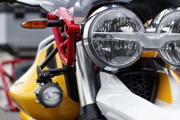 LED Mistlampen Moto Guzzi V85TT Compleet