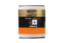Turboline lint 12,5mm wit 200m