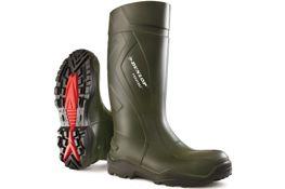 Dunlop Purofort+ knielaars S5 groen mt40