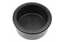Einddop 30mm rubber