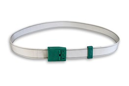 Halsband met gesp - zilver/grijs
