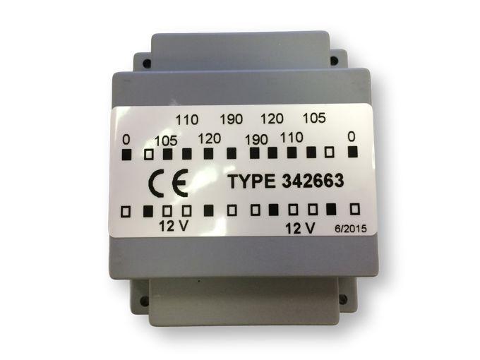 Trafo in dashboard WCR (oud model)