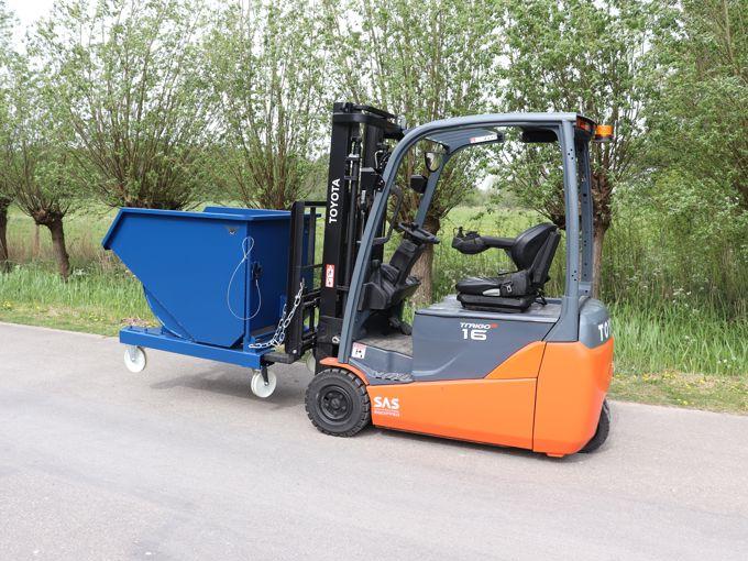 WET800 Kantelcontainer Mechanisch