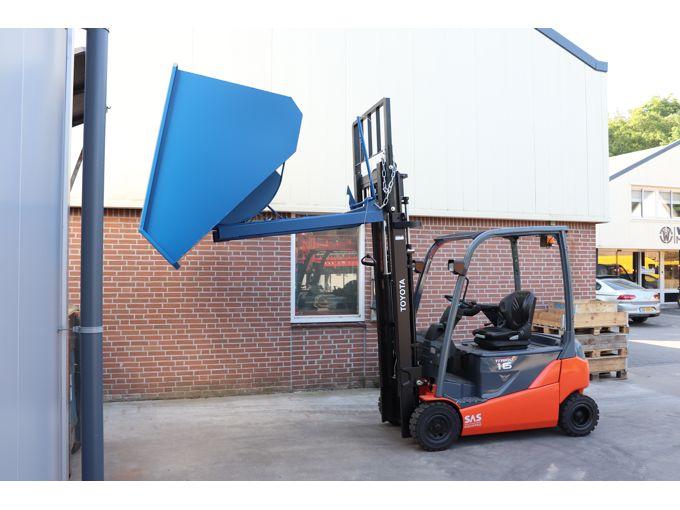 WET2000 Kantelcontainer Mechanisch