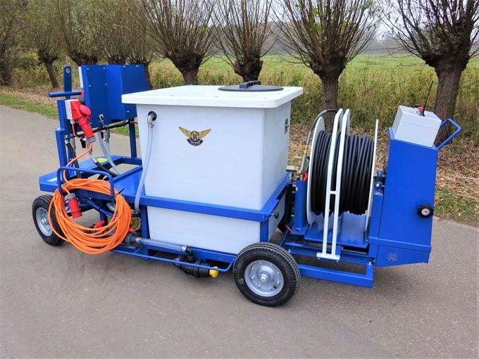 Spuitwagen 600K - Hydracell Pomp G10  30l/min~70bar - WCR