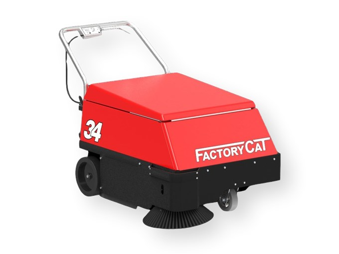 Factory Cat 34 Veegmachine