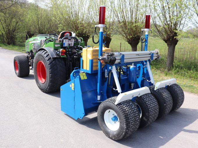 RW210T Kilverbord (4 Wielen)