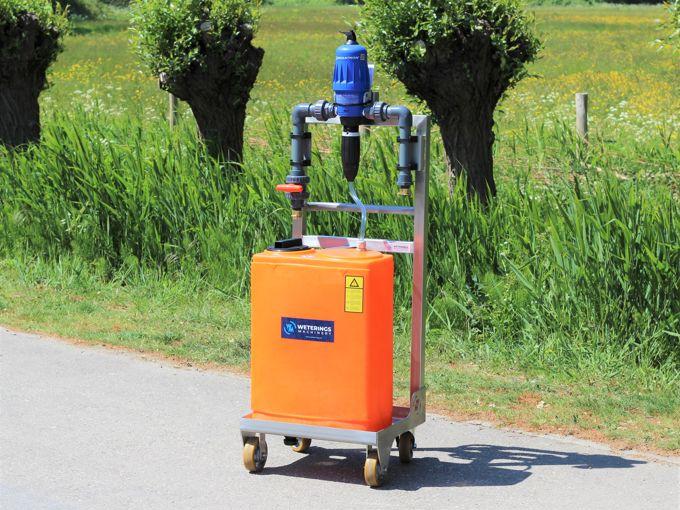 Dosatron D3RE5BPVF opbouw RVS wiel