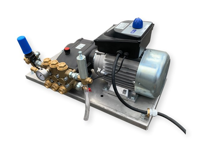 Mazzoni GM35 Plunjer Pompset 35l/min~50bar 4,0kW 400V