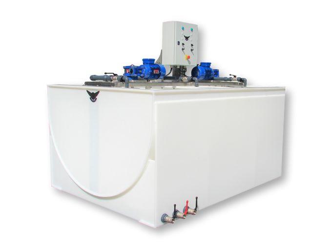 Tank Met Roer Installatie 1500/500/1500