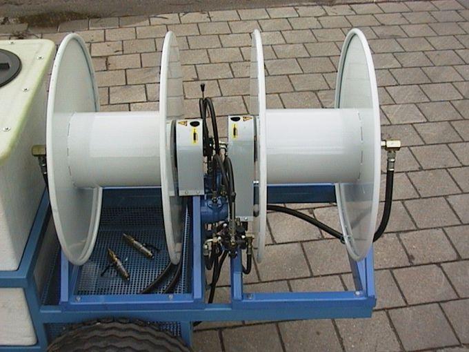 Spuittrailer 600K - Imovilli P186 Plunjer Pompset 170l/min~50bar (PTO Aangedreven)