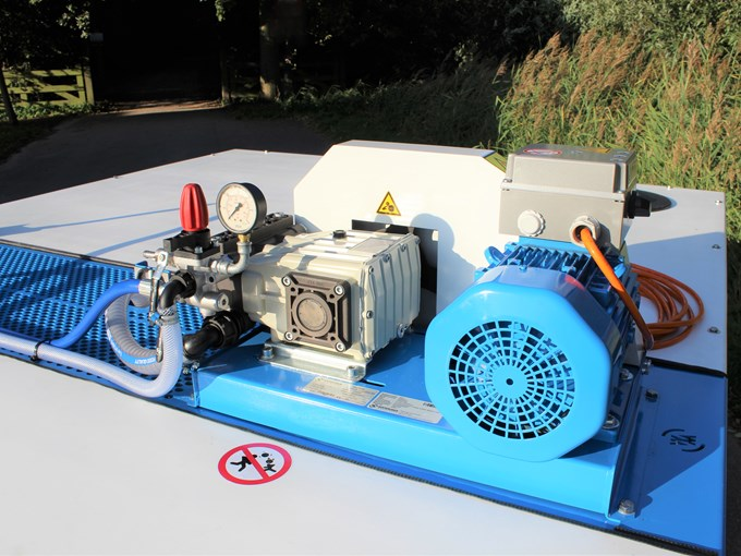 Pompinstallatie 4800K - Plunjerpomp P63 40l/min~50bar