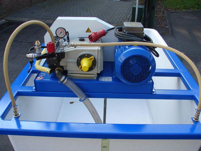 Pompinstallatie 2200K - Plunjer Pomp P123 79l/min~50bar