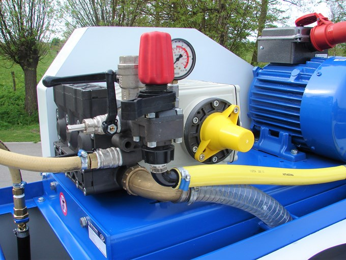 Pompinstallatie 1000K - Plunjerpomp P93 54l/min~50bar