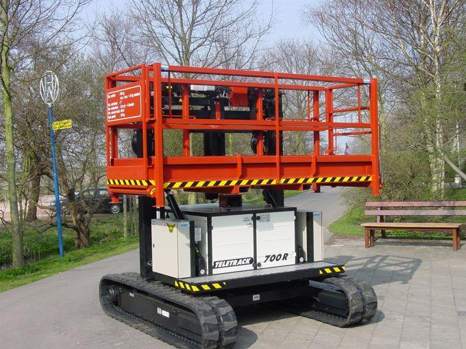 Teletrack 700R Telescoophoogwerker