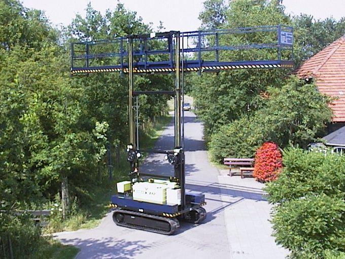 Teletrack 850 Telescoophoogwerker