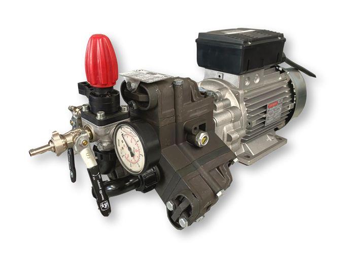 Imovilli PM33 Plunjer Pompset 19l/min~50bar 2,2kW 230V