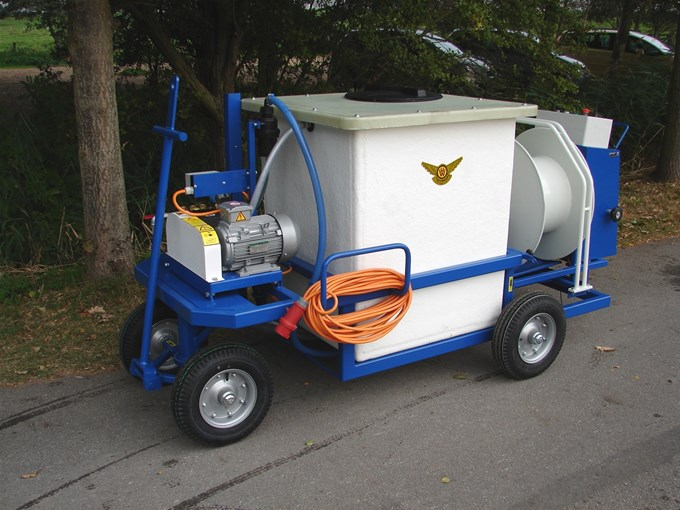 Spuitwagen 600K - Plunjerpomp  WS102 21l/min~55bar - WCR vast