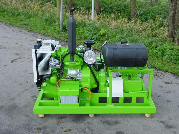 Kubota D1105 / Munckhof WM70 Pompunit
