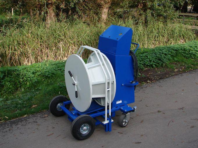 Weri Compact Roller (WCR) Touw Slanghaspel op wielen