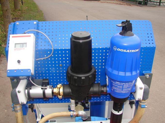 """WCR slanghaspel 335mm Ø1"""" (Dosatron D3RE2+BP & EC Meter)(Opvoerpomp)"""