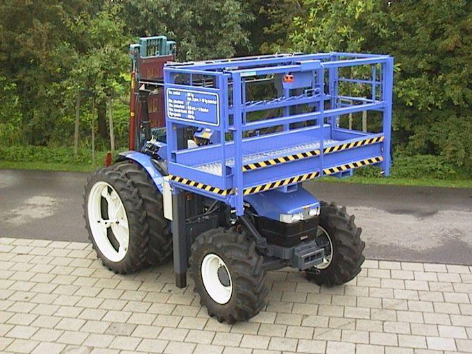 New Holland TN75D Duplo Bouwtractor