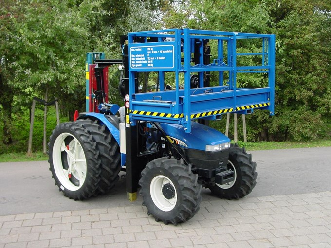 New Holland TN75D Triplo Bouwtractor