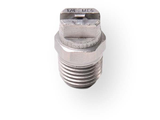 "Nozzle 25°.50 - ¼"" RVS vlakstraaltip"