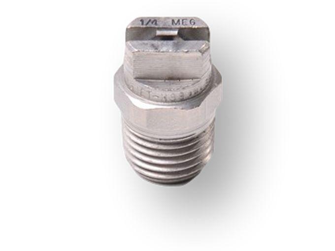 "Nozzle 25°.60 - ¼"" RVS vlakstraaltip"