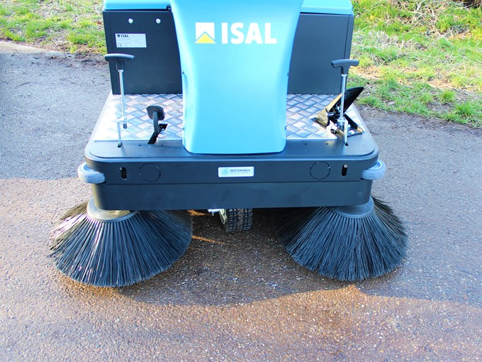 Isal PB110E Veegmachine