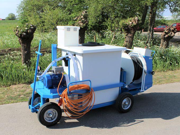 Spuitwagen 600K - Plunjerpomp P63 42l/min~50bar - WCR (Draaibaar)