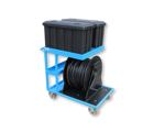 Servicewagen incl. HDPE kabel haspel voor elektrische Bio Choppers