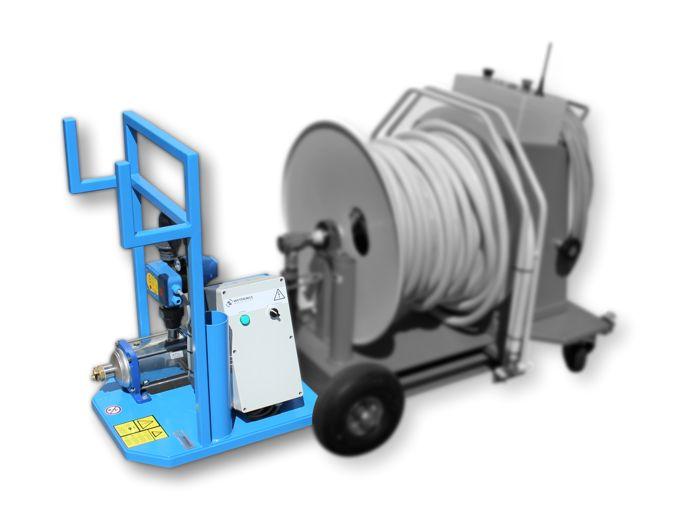 WCR Aanbouwunit - Opvoerpompset Easypress 20-70 l/min 400V