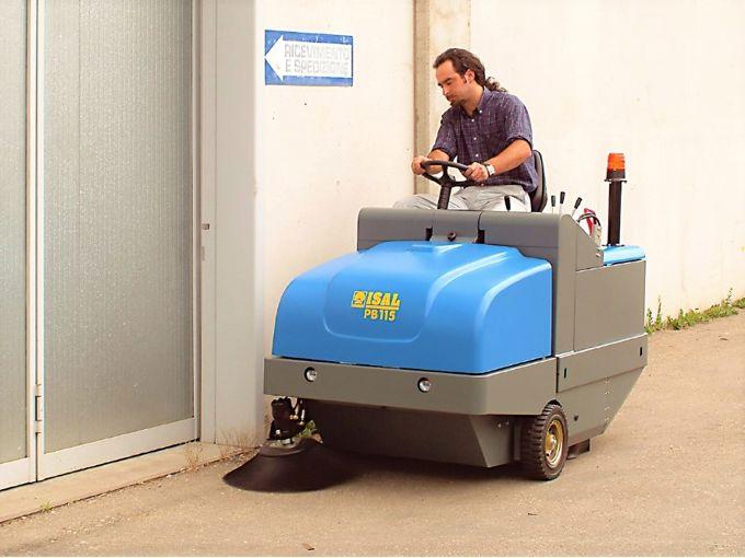 Isal PB115 Veegmachine