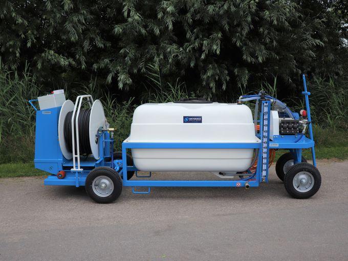 Spuitwagen 600T - Plunjerpomp P63 42l/min~50bar - WCR (Verrijdbaar)