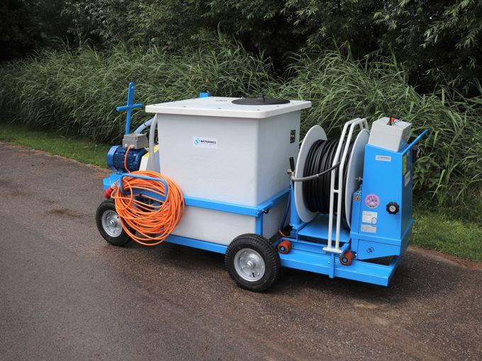 Spuitwagen 600K - Plunjerpomp P63 42l/min~50bar - WCR (Verrijdbaar)